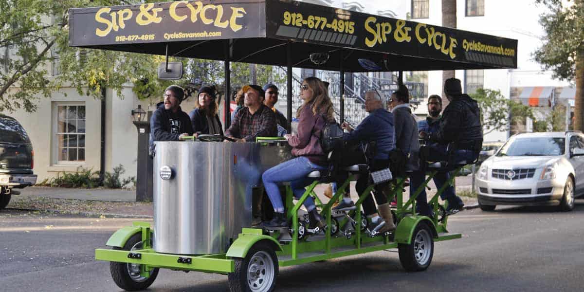 Savannah Party Bike - Rentals & Tours