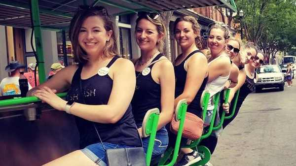 Book a Party Bike For your Bachelorette Party - Savannah Insider