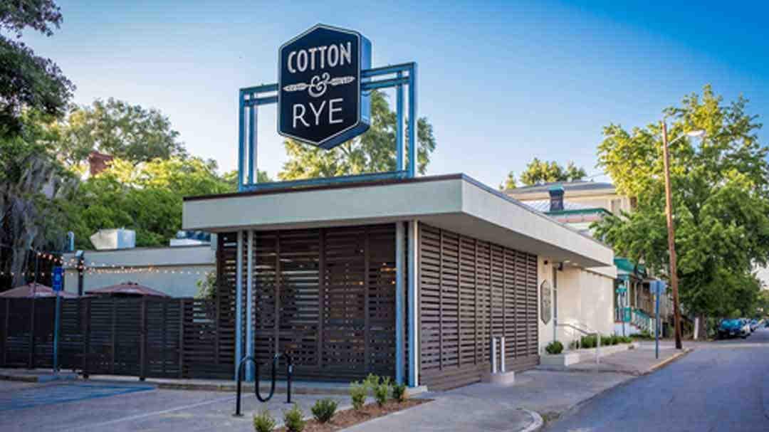 Cotton & Rye - Savannah Georgia - Pedal Pub Tours Savannah