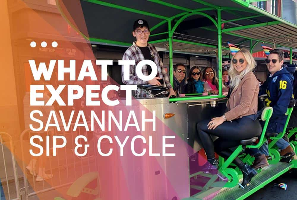 What to Expect when touring Savannah on the Savannah Sip & Cycle