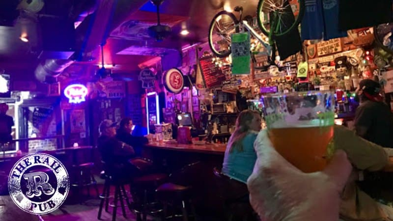 Best Dive Bars in SAvannah - The Rail Pub