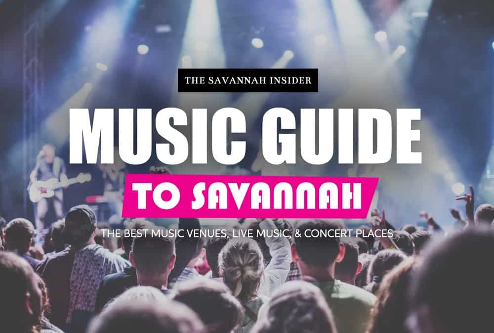 Live Music, Concerts, and Venues in Savannah Ga