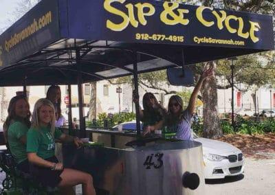The #1 Party Bike in Savannah Ga