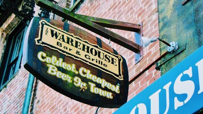 Warehouse Bar and Grille in Savannah Georgia