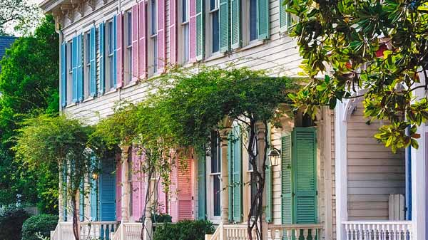 Rainbow Row Savannah