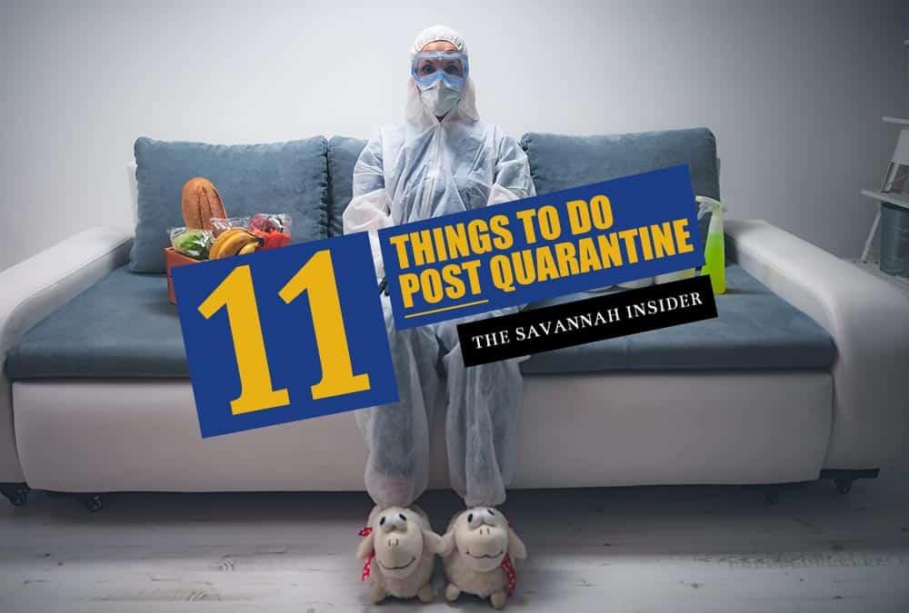 11 Things to Do in Savannah post Quarantine – The Savannah Insider
