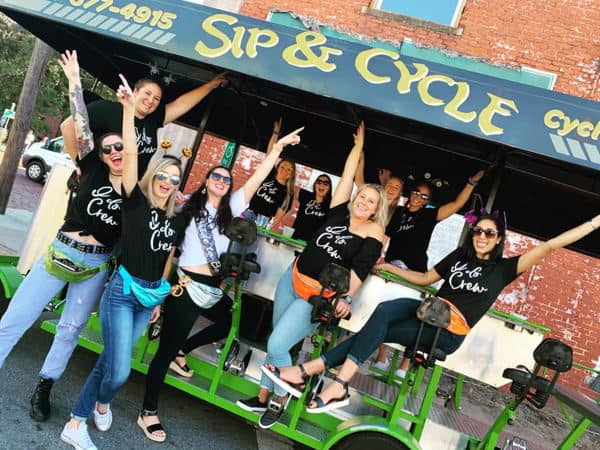 Bachelorette Party Bike