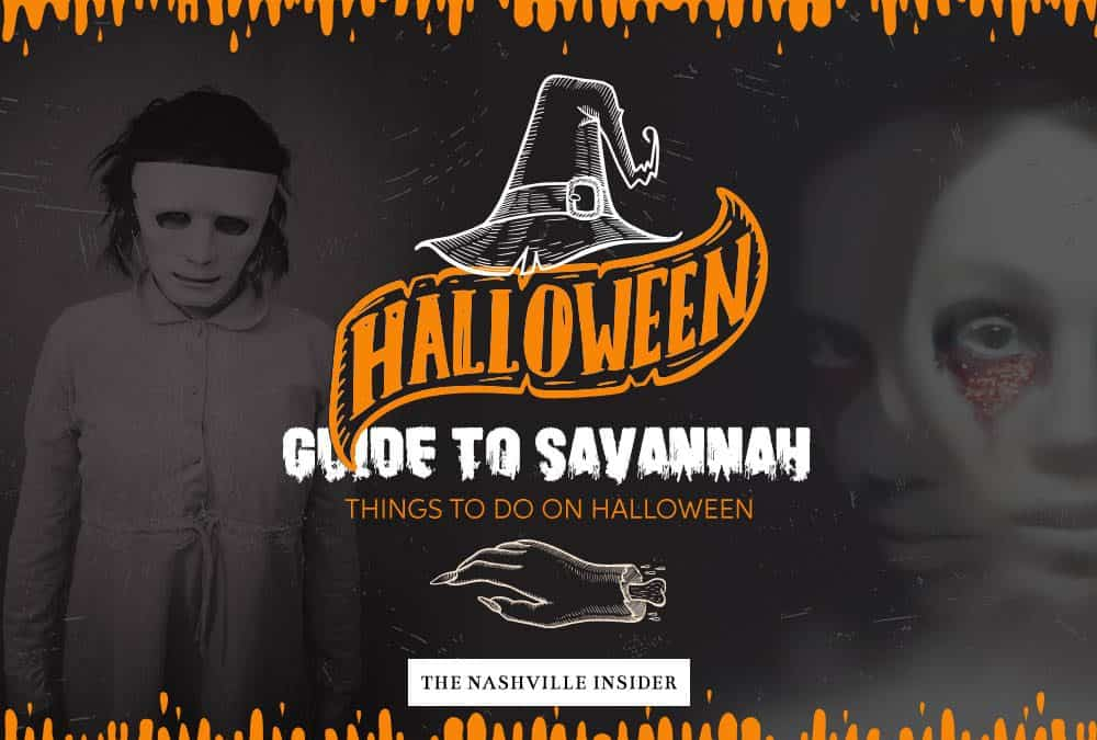 Things to do in Savannah on Halloween   October Guide