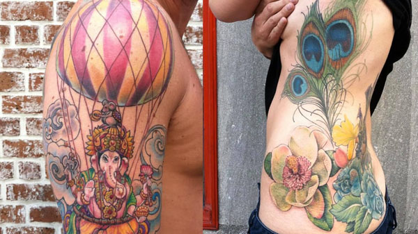 colorful tattoo - Full Color Tattoo shop in Savannah