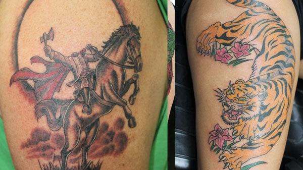 headless horseman tattoo