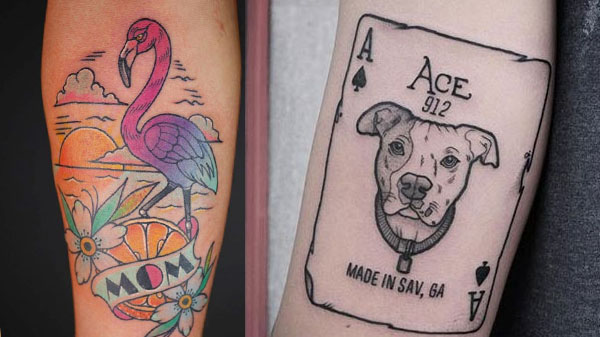 modern tattoo design