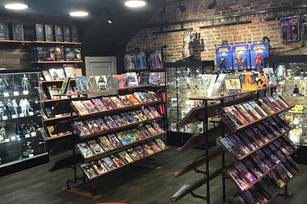 Odins and Sons Comic Book Store Savannah