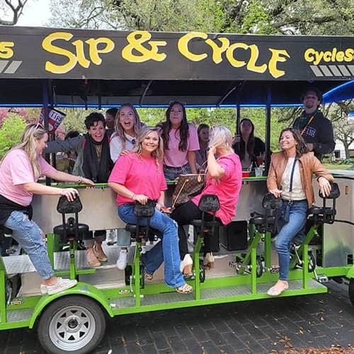 Best Pedal Tavern in Savannah Ga