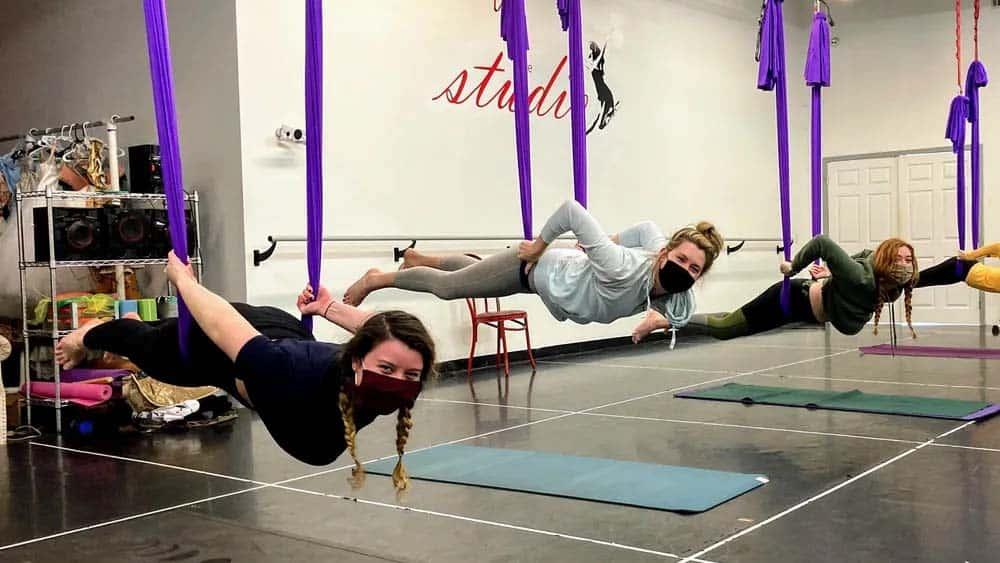 Hanging Yoga Savannah