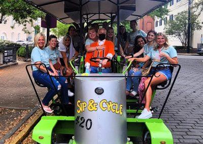 Savannah Sip and Cycle - Party Bike Tours Savannah