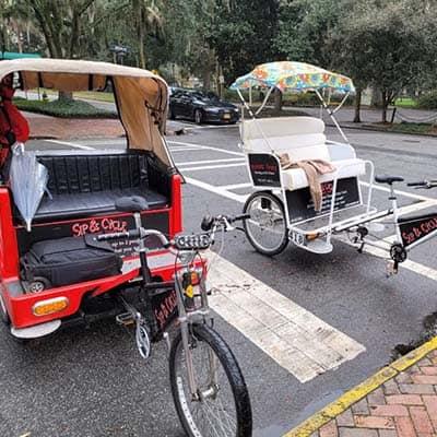Pedicabs in Savannah