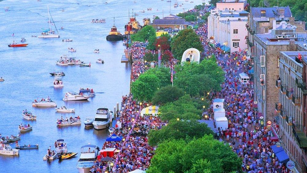 Things to do in Savannah on the 4th of July