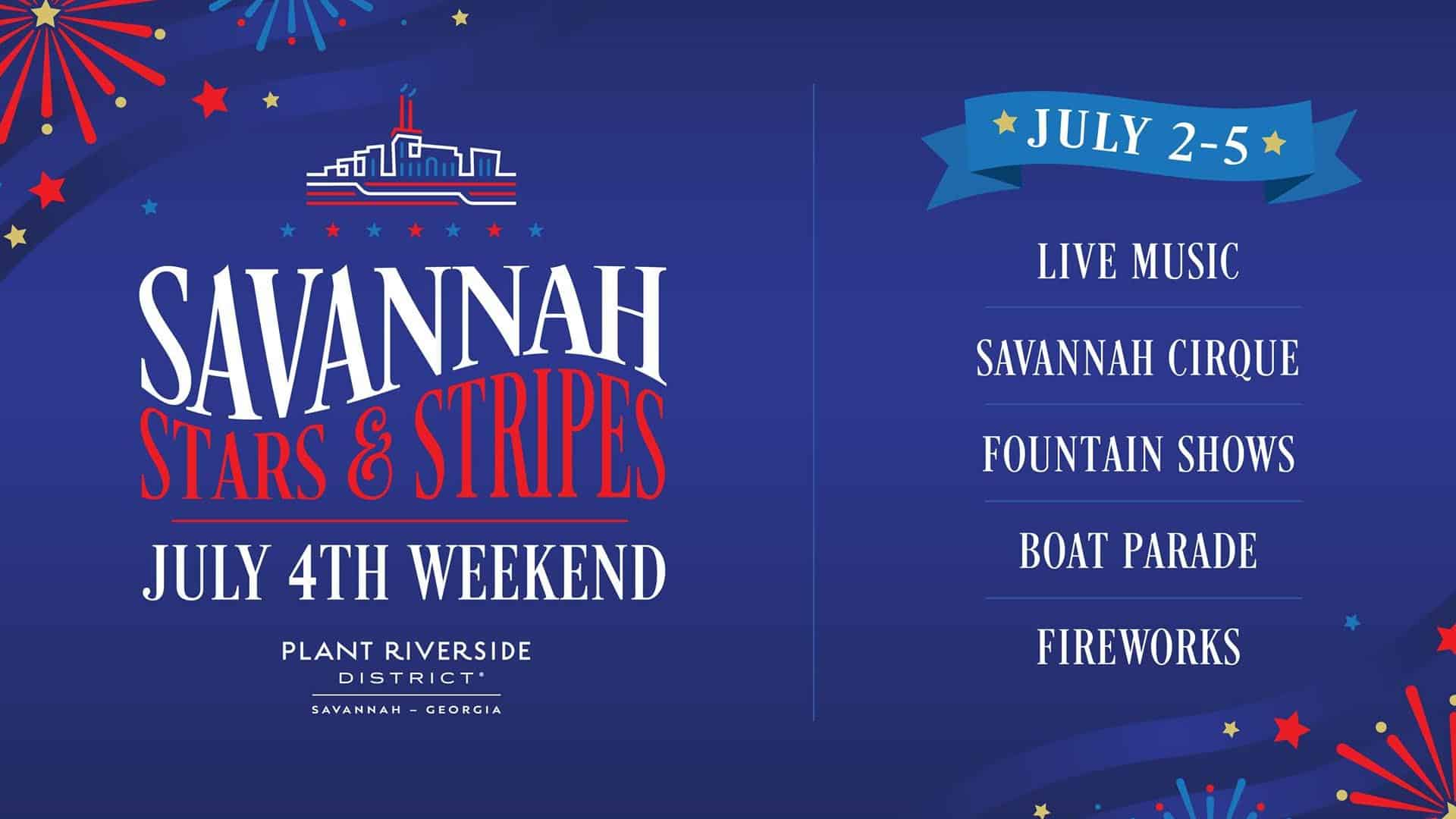 Things to do on the 4th of July in Savannah