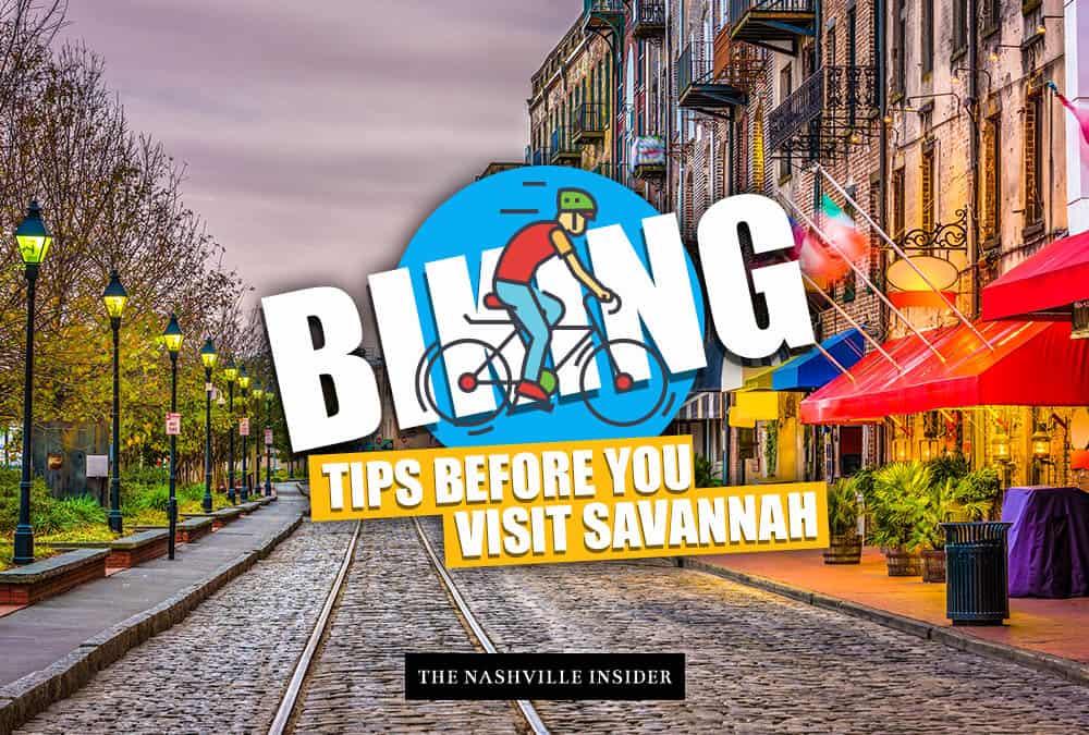 Biking Tips for Savannah